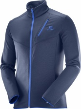 Свитер Salomon DISCOVERY FZ M Dress Blue