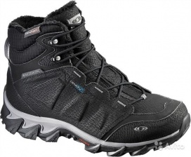 "Ботинки SALOMON ""Elbrus Wp"" M Black/Detroit"