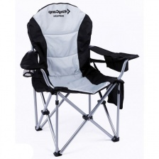 Кресло KingCamp Delux Steel Arms Chair 97х60х105 складное сталь