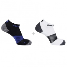 Носки Salomon SOCKS SPEED 2-PACK NIGHT SKY/Whi