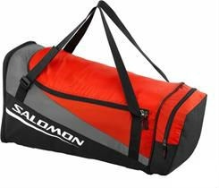 Сумка SALOMON Sports Bag BLACK/BRIGHT RED