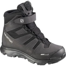 "Ботинки SALOMON ""Synapse Winter Cswp"" J Black/Bk/S"