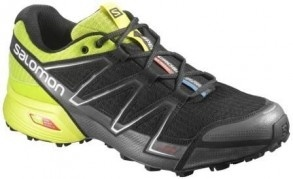 "Кроссовки SALOMON ""Speed Cross Vario"" Bk/Gecko Green"
