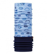Бандана BUFF BABY POLAR BUFF CLOUDS BLUE / NAVY (US:One size)