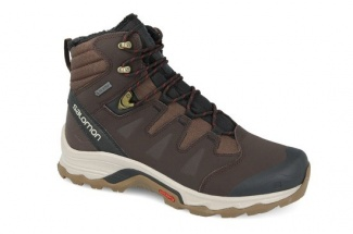 "Ботинки SALOMON ""Quest Winter GTX "" Black/Coff/Bk"