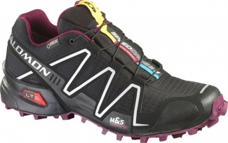 "Кроссовки SALOMON ""Speed Cross 3 GTX"" W Black"