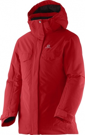 Куртка Salomon Sashay Jr Jacket G Poppy фото 1