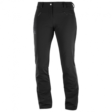 Брюки Salomon WAYFARER WARM PANT W Black фото 1