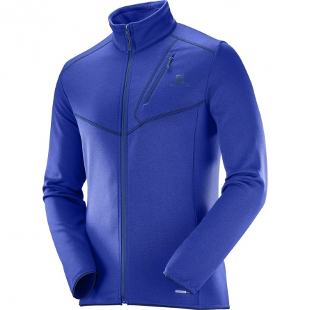 Свитер Salomon DISCOVERY FZ M Dress Blue фото 2