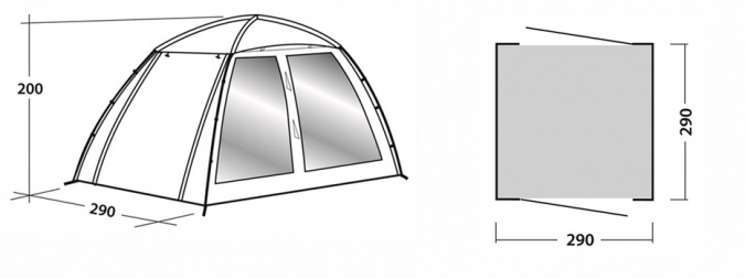 Шатер Easy Camp Daytent фото 2