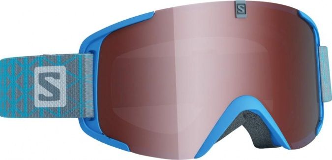 Маска Salomon GOGGLES XVIEW ACC Blue/Uni Flash T. фото 1
