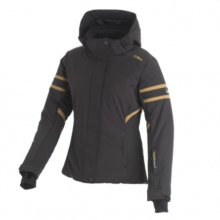 Куртка CMP г/л Woman ski jacket zip hood фото 2