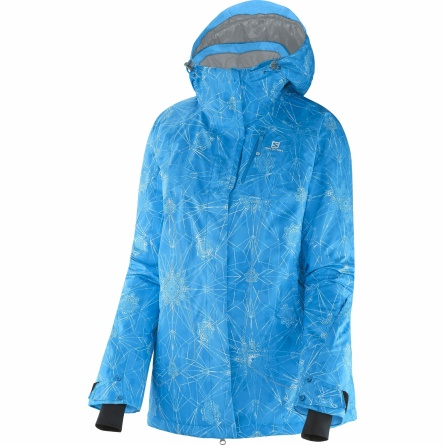 Куртка Salomon ZERO JACKET W Bl/Blue Line/Wh фото 1