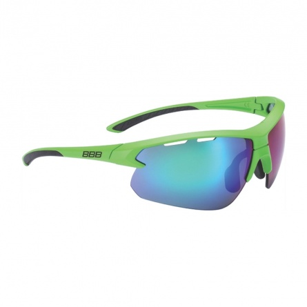 Очки BBB Select XL MLC green XL lens black tips зеленый фото 1
