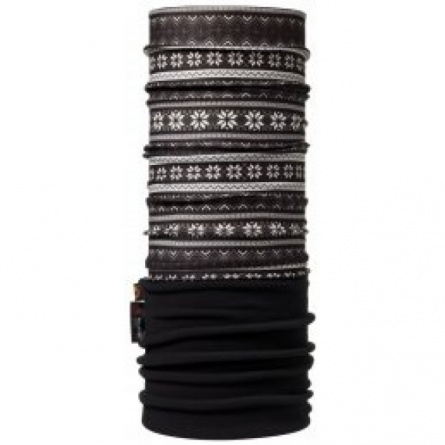 Бандана BUFF POLAR BUFF SNOWFLAKES / BLACK фото 1