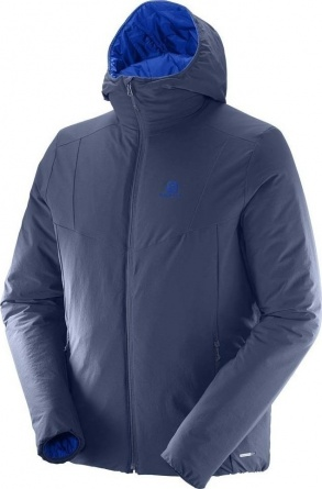 Куртка Salomon Drifter Hoodie M Dress Blue/Surf фото 1