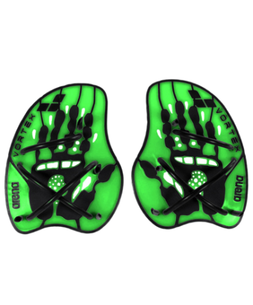 Лопатки Arena Vortex Evolution Hand Paddle Acid lime/Black (95232 65) фото 2